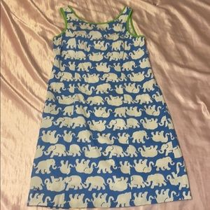 Rare Lilly Pulitzer elephant shift dress